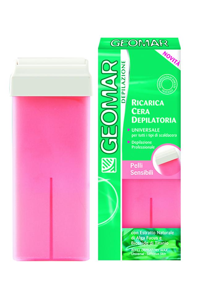 Geomar Сменный воск для удаления волос для чувствительной кожи 100мл.