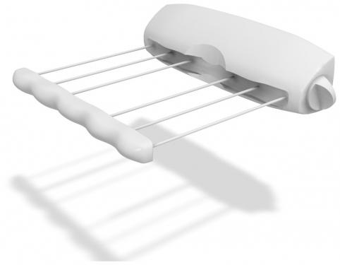 Сушилка для белья Rotor 6, вытяжная, 6 линийGC204/30Сушилка для белья Rotor 6, изготовленная из прочного пластика, это удобная и функциональная вещь. Идеально подходит для ванных комнат и балконов, но вы можете ее установить в любом удобном для вас месте. Сушилка крепится к стене, имеет 6 горизонтально расположенных веревок. Изделие легко монтируется с помощью дюбелей и шурупов (прилагаются в комплекте). Сушилка имеет автоматическую обратную намотку веревок на барабан.Размер сушилки: 40 см х 8,5 см х 8,5 см.Длина каждой веревки: 3,6 м.Цвет: белый с сиреневым оттенком.