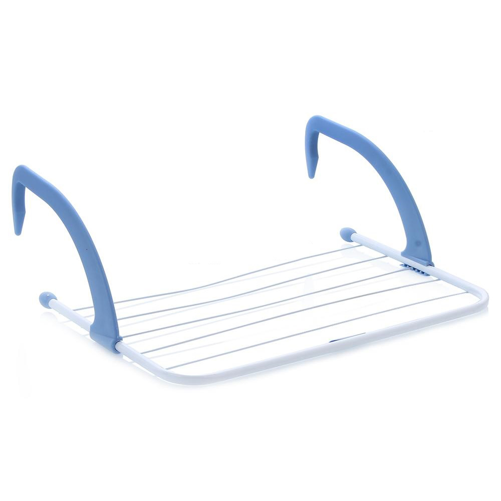 Сушилка для белья Gimi AiryIR-F1-WСушилка для белья Gimi Airy может использоваться на батарее, балконе или окне. Изделие состоит из 5 стальных струн и пластиковых держателей, которые надежно крепятся к опоре. Сушилка для белья Gimi Airy компактно складывается, экономя место в вашей квартире.