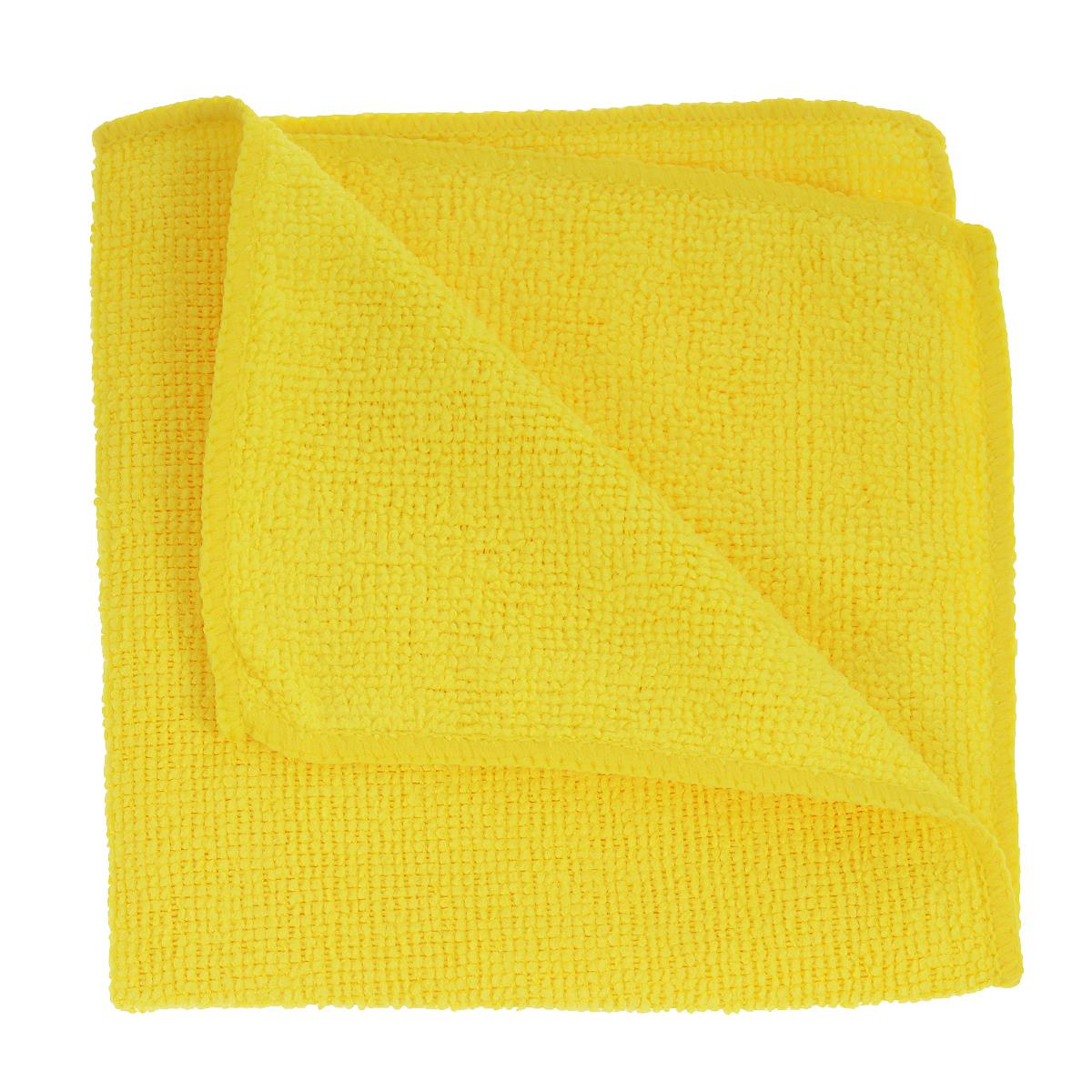 Салфетка универсальная Celesta, из микрофибры, цвет: желтый, 30 см х 30 см4660 желтыйСалфетка Celesta, изготовленная из микрофибры (80% полиэстера и 20% полиамида), предназначена для сухой и влажной уборки. Подходит для ухода за любыми поверхностями. Благодаря специальной структуре волокон справляется с загрязнениями без использования моющих средств. Не оставляет разводов и ворсинок. Обладает отличными впитывающими свойствами.