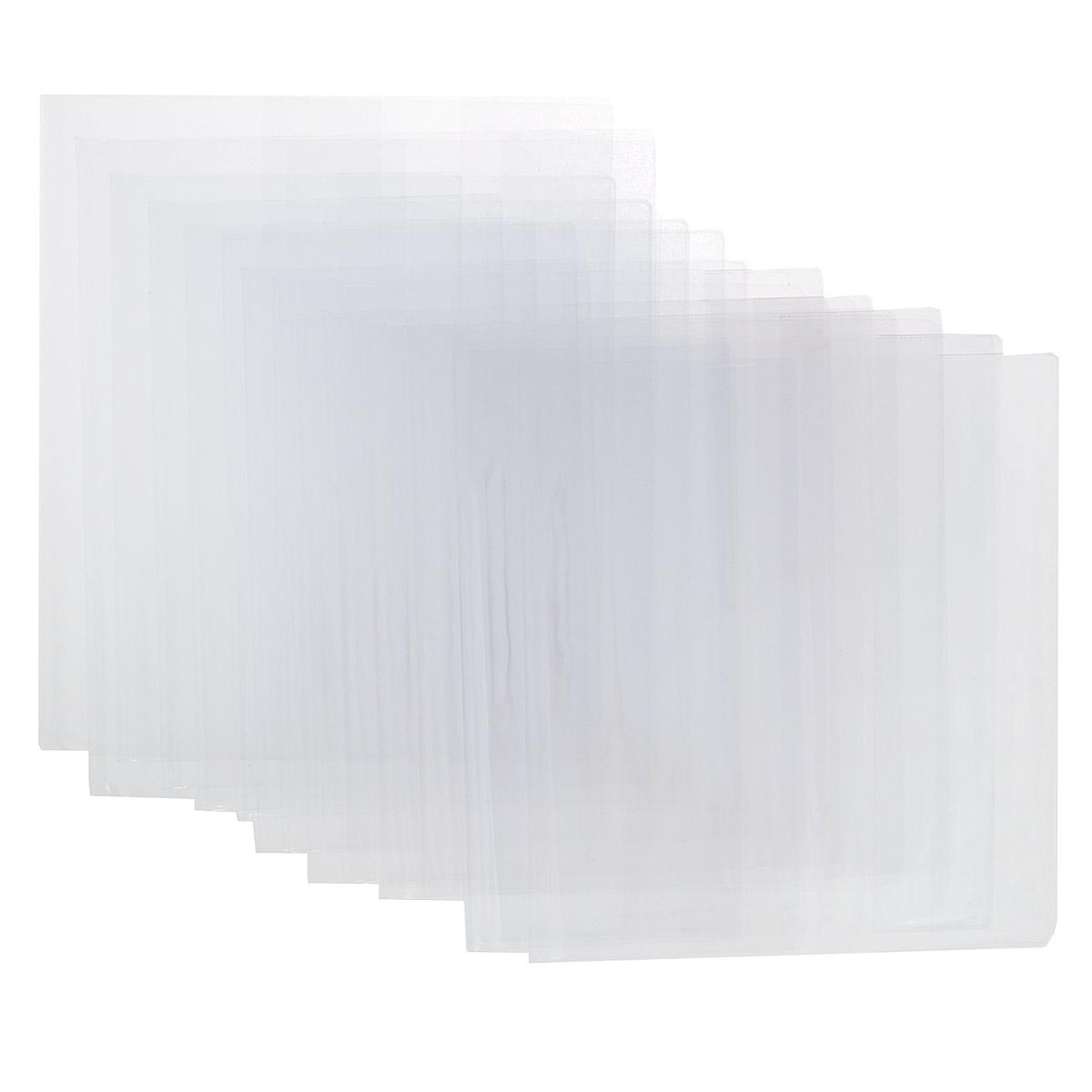 Набор обложек для младших классов Брупак, 15 штC13S400035Прозрачные гладкие обложки, выполненные из ПВХ, защитят учебники и тетради от загрязнений на всем протяжении их использования. Комплект включает в себя пятнадцать обложек: три обложки для тетрадей Пропись размером 22,5 см х 35,7 см, пять универсальных обложек для учебников размером 23 см х 46,5 см, пять обложек для учебников младших классов размером 23,5 см х 36,5 см, две обложки для учебников Петерсон размером 26,7 см х 50,8 см.