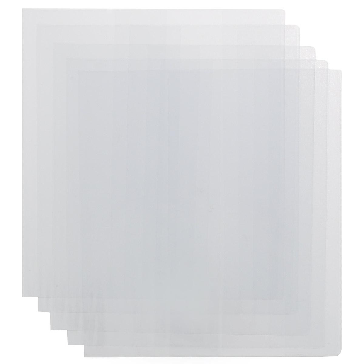 Набор обложек для учебников Брупак, цвет: прозрачный, 26,7 см х 50,8 см, 5 шт0302-0076-00Набор цветных обложек для учебников Брупак предназначены для защиты от пыли, грязи и механических повреждений. Обложки с прозрачными клапанами.