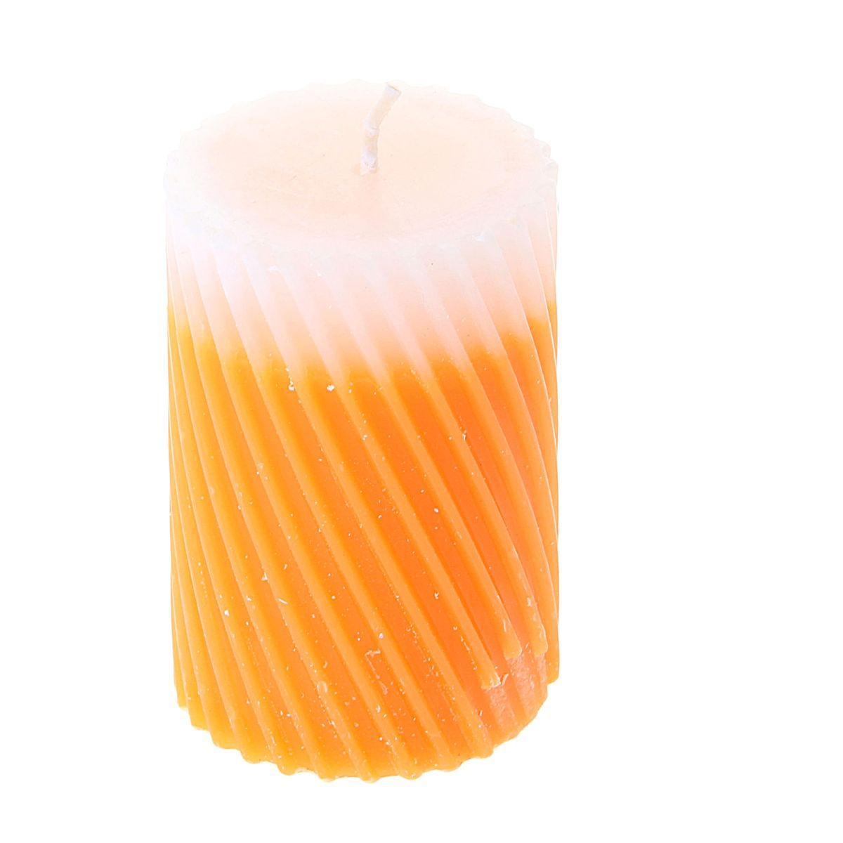 Свеча ароматизированная Sima-land Дыня, высота 7,5 см. 849534849534Свеча Sima-land Дыня выполнена из воска и оформлена резным рельефом. Свеча порадует ярким дизайном и сочным ароматом дыни, который понравится как женщинам, так и мужчинам. Создайте для себя и своих близких незабываемую атмосферу праздника в доме. Ароматическая свеча Sima-land Дыня раскрасит серые будни яркими красками.