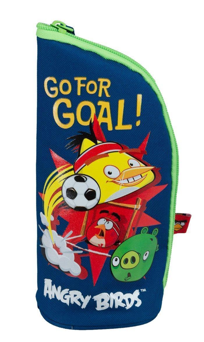 Пенал - подставка. Angry Birds72523WDШкольный пенал для канцелярских принадлежностей вместит в себя все самое необходимое для учебы. Пенал очень яркий и красочный. Изображения любимых героев мультфильмов поднимут настроение ученику, что тоже немаловажно.Пенал имеет надежный замок-молнию.