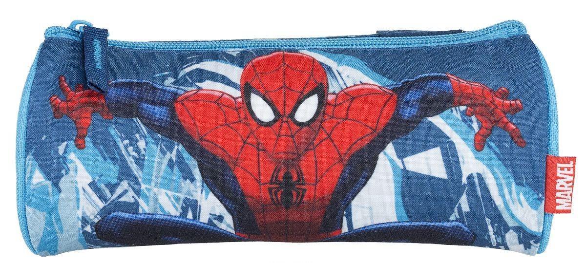 Пенал на молнии. Spider-man Classic72523WDШкольный пенал для канцелярских принадлежностей вместит в себя все самое необходимое для учебы. Пенал очень яркий и красочный. Изображения любимых героев мультфильмов поднимут настроение ученику, что тоже немаловажно.Пенал имеет надежный замок-молнию.