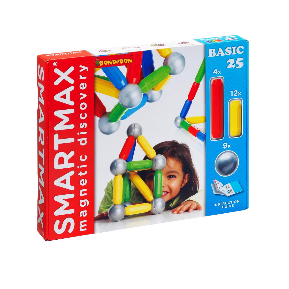 Bondibon Конструктор магнитный Smartmax Основной набор