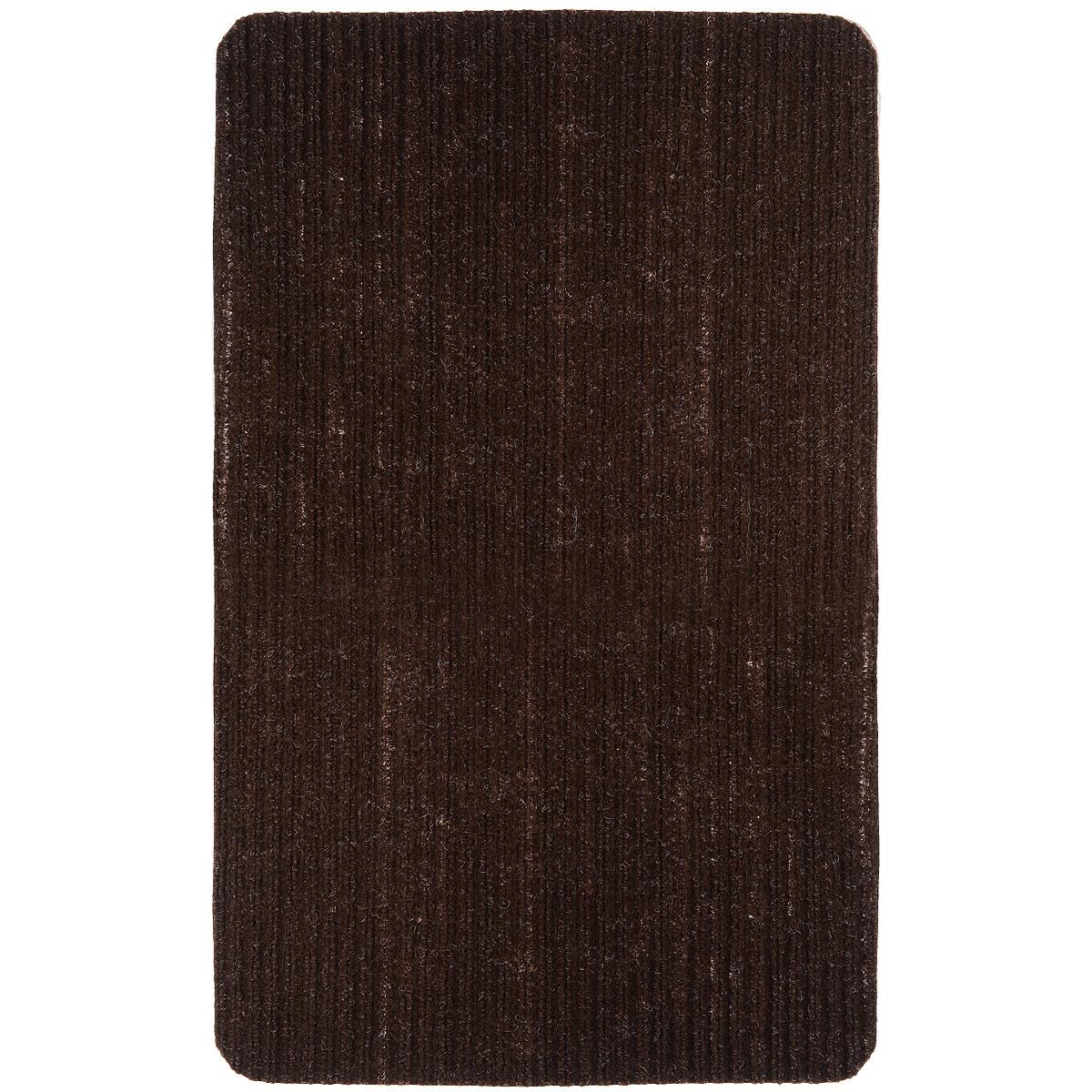 Коврик придверный Vortex Simple, цвет: темно-коричневый, 50 х 80 см54 009305Придверный коврик Vortex Simple выполнен из полимера. Он прост в обслуживании, прочный и устойчивый к различным погодным условиям. Такой коврик надежно защитит помещение от уличной пыли и грязи.