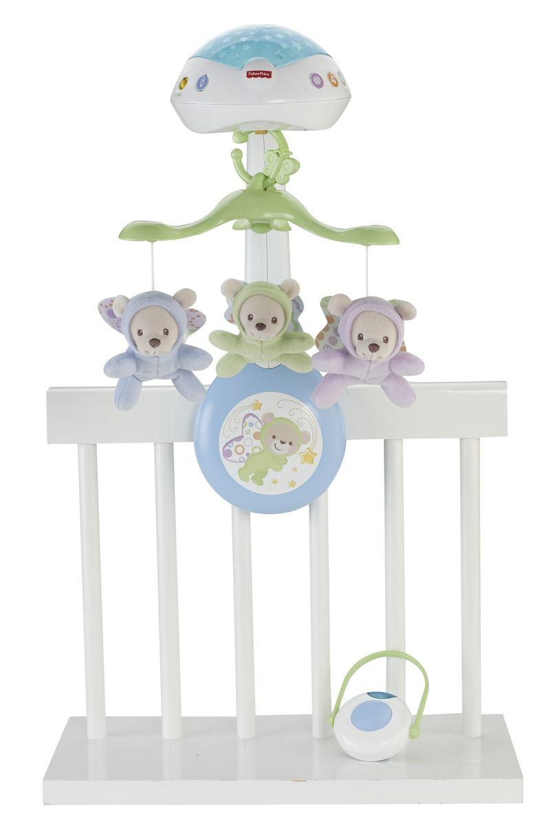 Fisher-Price Мобиль Мечты о бабочках обновленный, Mattel