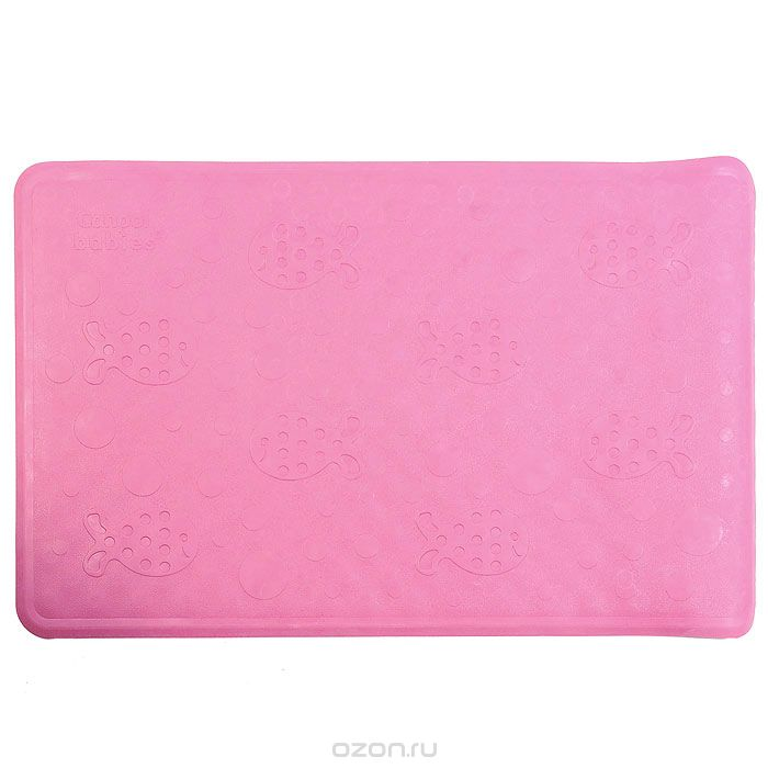 Canpol Babies Нескользящий коврик для ванны цвет розовый 34 см х 55 см391602Нескользящий коврик Canpol Babies для ванны изготовлен из высококачественной мягкой резины и подходит для большинства детских ванночек, ванн и душевых кабин. Коврик крепится на дно ванны при помощи присосок, и предотвращает прямой контакт тела ребенка со скользким дном ванны. Характеристики: Размер коврика: 34 см х 55 см. Размер упаковки: 9 см х 36 см х 9 см.Уважаемые клиенты!Обращаем ваше внимание на ассортимент в цветовом дизайне товара. Поставка осуществляется в одном из нижеприведенных вариантов, в зависимости от наличия на складе.
