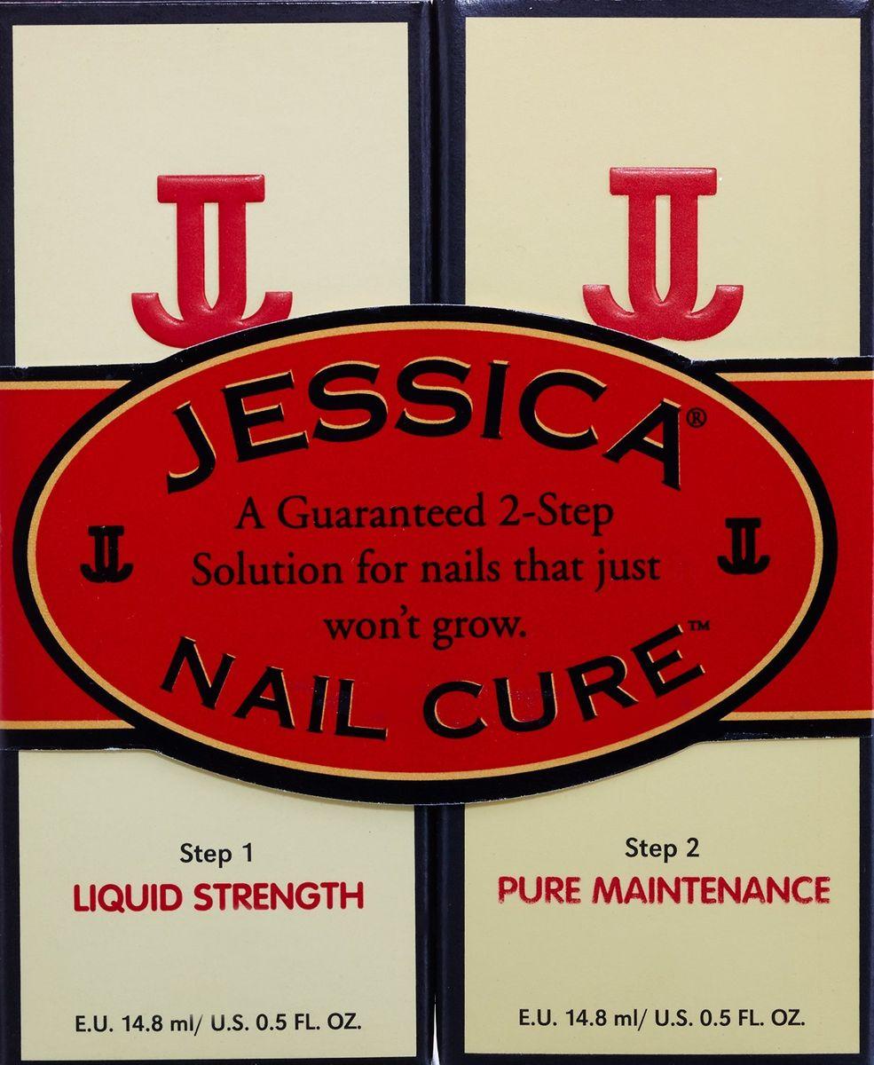 Jessica 2-х ступенчатое средство для ухода за ногтями Nail Cure Twin-Pack (LiquidStrength Жидкий укрепитель + Pure Maintenance Чистый увлажнитель) 2 х14,8мл5010777139655Nail Cure Twin-Pack Средство для ухода за проблемными ногтями предлагает двухшаговое лечение, которое позволит добиться видимых положительных результатов! Шаг 1 Liquid Strength Жидкий укрепитель + Шаг 2 Pure Maintenance Чистый увлажнитель
