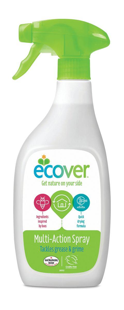 Экологический спрей Ecover для чистки любых поверхностей, 500 мл68/5/4Экологический спрей Ecover может использоваться для всех поверхностей, а также как средство для стекол. Особенно подходит для чистки кухни и ванной, керамической плитки, эмали, акриловых и хромированных поверхностей. Очищает и придает блеск, не требует смывания, не оставляет после себя химикатов. Безопасен для применения вблизи продуктов питания. Не оказывает вредного влияния на кожу, безопасен при вдыхании, не вызывает аллергических реакций. Обладает приятным натуральным ароматом на основе растительных компонентов. Оснащен высокоэффективным распылителем с блокиратором ON/OFF. Не содержит соединений хлора и других агрессивных веществ, без синтетических ароматизаторов. Уровень pH: 8.25. Подходит для использования в домах с автономной канализацией. Не наносит вреда любым видам септиков! Характеристики:Состав: >30% вода; 5-15% спирт; Объем: 500 мл. Товар сертифицирован.