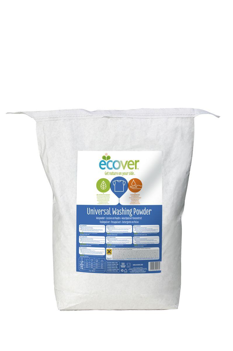 Экологический стиральный порошок Ecover, концентрат, универсальный, 7,5 кг2202902Очень эффективный универсальный порошок-концентрат Ecover предназначен для стирки белого и нелиняющего цветного белья. Подходит к использованию для детей от 2-х лет и взрослых. Порошок создан на основе растительных ПАВ. Улучшенная формула содержит небольшое количество бережного кислородного отбеливателя для удаления таких загрязнений как пятна от вина, фруктов, травы и т.д. Прекрасно выполаскивается. Экономичный концентрат - новая формула средства позволяет использовать меньше порошка и обеспечивает на 25% больше стирок! При машинной стирке не требуется добавление средств для смягчения воды и предотвращения образования накипи (типа Calgon). Обладает легким натуральным ароматом. Не содержит фосфатов и синтетических ароматизаторов. Содержит энзимы (не ГМО) и натуральный кислородный отбеливатель. Подходит для использования в домах с автономной канализацией. Не наносит вреда любым видам септиков! Характеристики:Состав: 15-30% анионные био-ПАВ цеолиты, кислородный отбеливатель, 5-15% неионные ПАВ, силикат натрия, Объем: 7,5 кг. Товар сертифицирован.