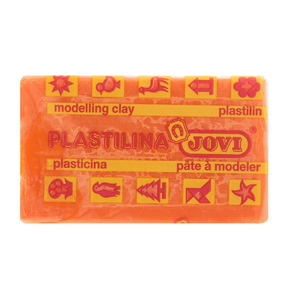 Jovi Пластилин, цвет: морковный, 50 г70/30U_морковныйПластилин Jovi - лучший выбор для лепки, он обладает превосходными изобразительными возможностями и поэтому дает простор воображению и самым смелым творческим замыслам. Пластилин, изготовленный на растительной основе, очень мягкий, легко разминается и смешивается, не пачкает руки и не прилипает к рабочей поверхности. Пластилин пригоден для создания аппликаций и поделок, ручной лепки, моделирования на каркасе, пластилиновой живописи - рисовании пластилином по бумаге, картону, дереву или текстилю. Пластические свойства сохраняются в течение 5 лет.