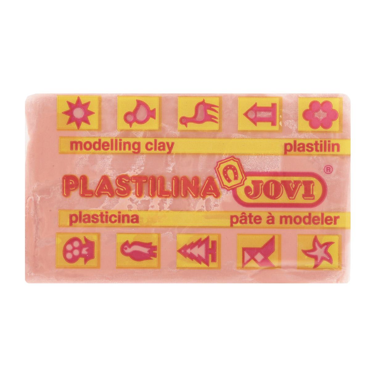 Jovi Пластилин, цвет: бледно-розовый, 50 г70/30U_бледно-розовыйПластилин Jovi - лучший выбор для лепки, он обладает превосходными изобразительными возможностями и поэтому дает простор воображению и самым смелым творческим замыслам. Пластилин, изготовленный на растительной основе, очень мягкий, легко разминается и смешивается, не пачкает руки и не прилипает к рабочей поверхности. Пластилин пригоден для создания аппликаций и поделок, ручной лепки, моделирования на каркасе, пластилиновой живописи - рисовании пластилином по бумаге, картону, дереву или текстилю. Пластические свойства сохраняются в течение 5 лет.