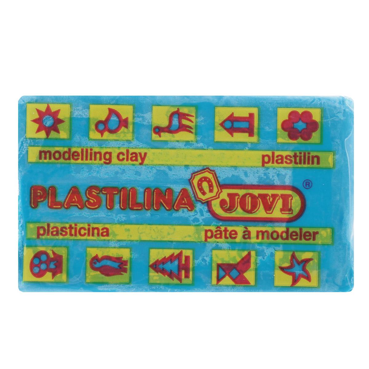 Jovi Пластилин, цвет: голубой, 50 г72523WDПластилин Jovi - лучший выбор для лепки, он обладает превосходными изобразительными возможностями и поэтому дает простор воображению и самым смелым творческим замыслам. Пластилин, изготовленный на растительной основе, очень мягкий, легко разминается и смешивается, не пачкает руки и не прилипает к рабочей поверхности. Пластилин пригоден для создания аппликаций и поделок, ручной лепки, моделирования на каркасе, пластилиновой живописи - рисовании пластилином по бумаге, картону, дереву или текстилю. Пластические свойства сохраняются в течение 5 лет.