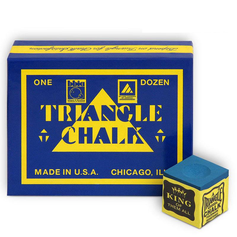 Мел Tweeten Triangle, цвет: синий, 12 шт4761Бильярдный мел Tweeten Triangle приобрел прекрасную репутацию во всем мире в качестве экономичного, имеющего отличные игровые характеристики продукта. Его производят в Чикаго, в штате Иллинойс США, где впервые современный бильярдный мел и был изобретен.