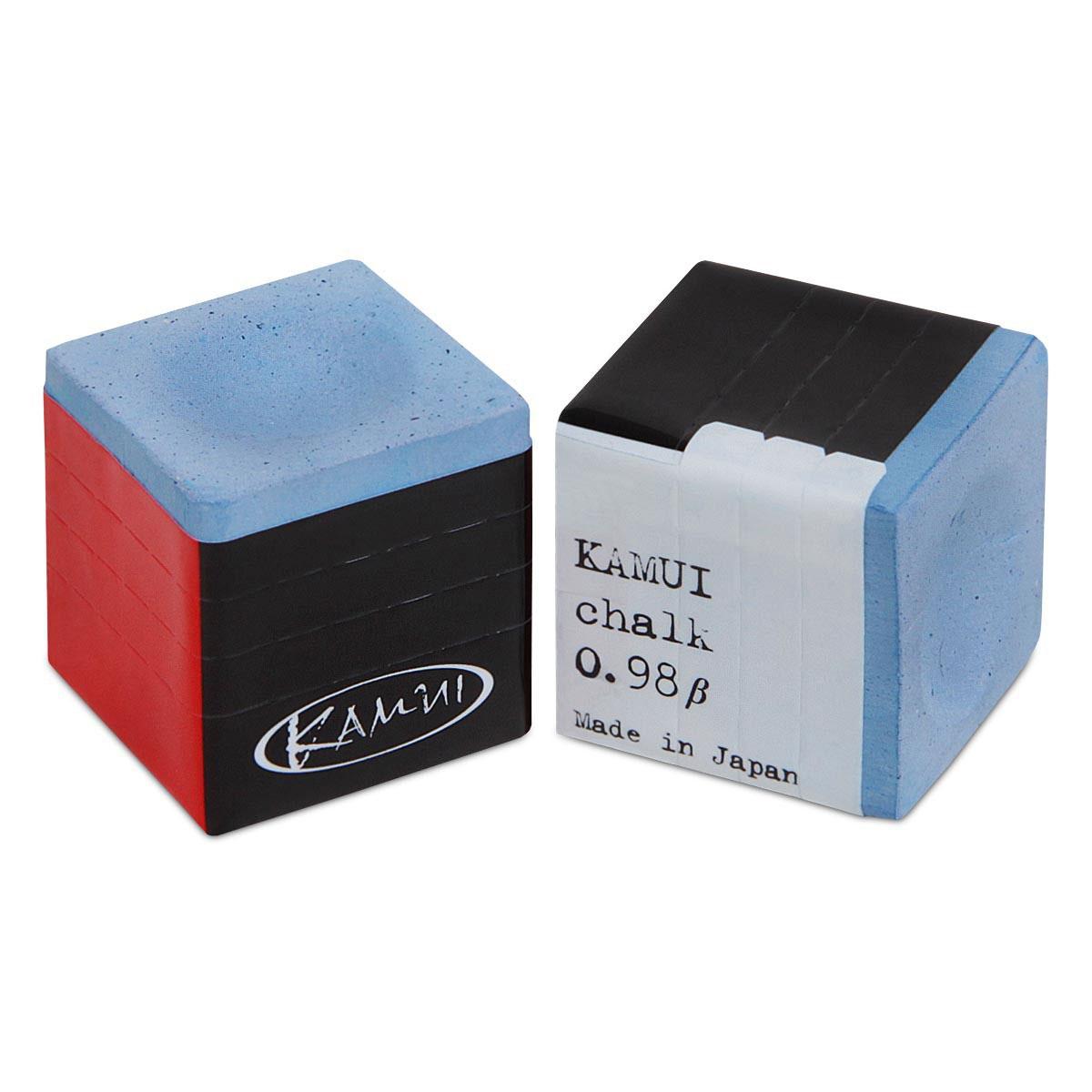 Мел Kamui, цвет: синий4761Мел Kamui произвел революцию в бильярдном мире. Игроки получили возможность усовершенствовать технику своей игры, делая более точные удары, избегая кикса. Секрет – в необыкновенных качествах мела, состоящего из мельчайших фракций, обладающего высокой степенью сцепления и увеличивающего площадь контакта наклейки кия с битком. Также благодаря наибольшей проникающей способности этот мел дольше остается на наклейке кия, поэтому нет необходимости ее мелить перед каждым ударом.