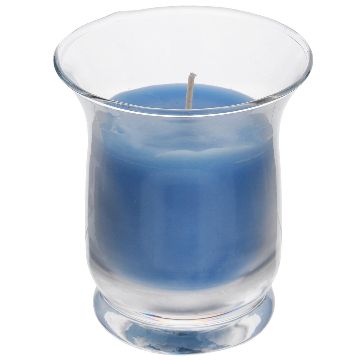 Свеча ароматизированная Sima-land Романтика, с ароматом океана, высота 7,5 смБрелок для ключейАроматизированная свеча Sima-land Романтика изготовлена из воска и поставляется в стеклянном стакане. Изделие отличается оригинальным дизайном и приятным свежим ароматом. Такая свеча может стать отличным подарком или дополнить интерьер вашей комнаты.