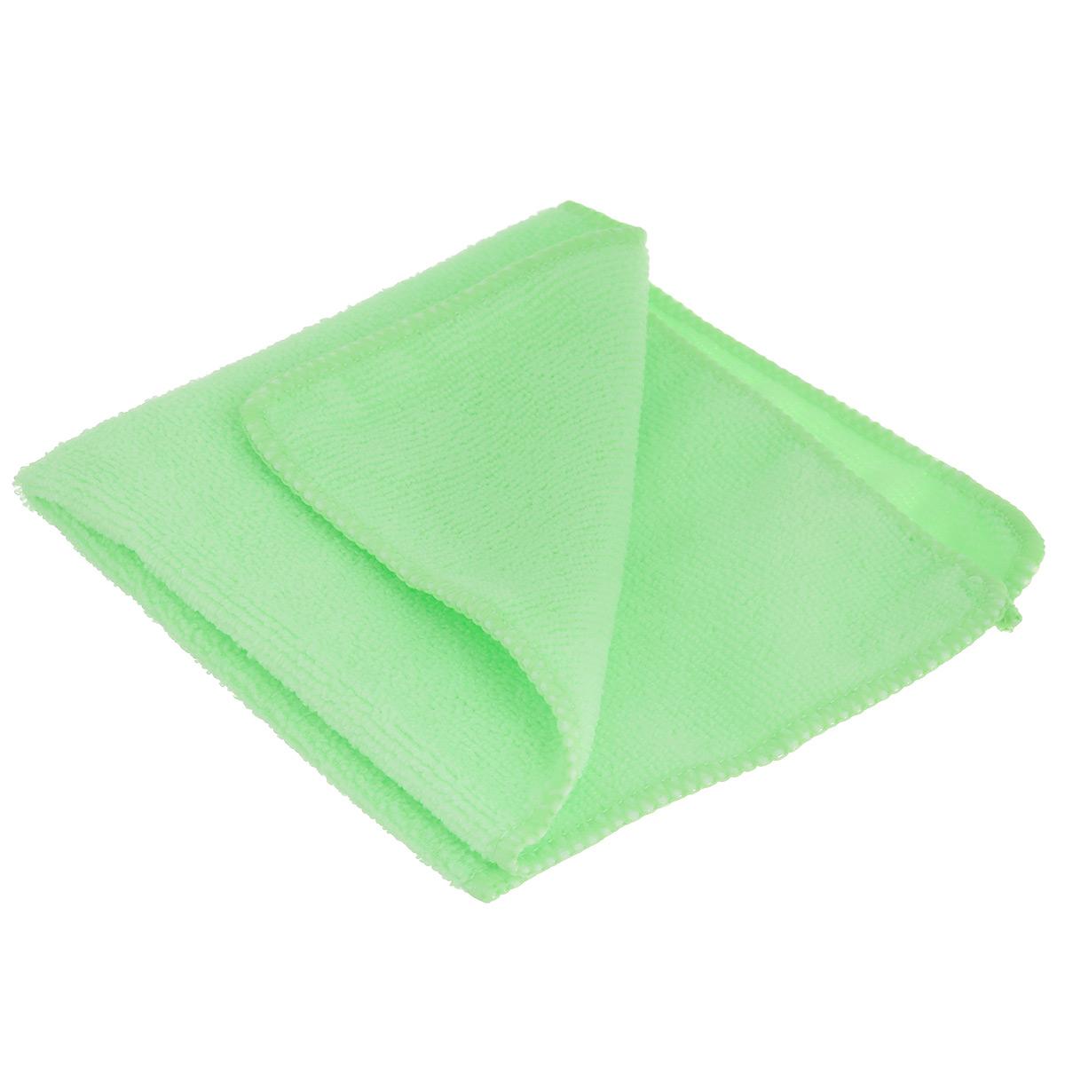 Салфетка для уборки Youll Love, цвет: салатовый, 30 х 30 см531-402Салфетка Youll Love, изготовленная из полиэфира, предназначена для очищения загрязнений на любых поверхностях. Изделие обладает высокой износоустойчивостью и рассчитано на многократное использование, легко моется в теплой воде с мягкими чистящими средствами. Супервпитывающая салфетка не оставляет разводов и ворсинок, удаляет большинство жирных и маслянистых загрязнений без использования химических средств. Размер салфетки: 30 см х 30 см.