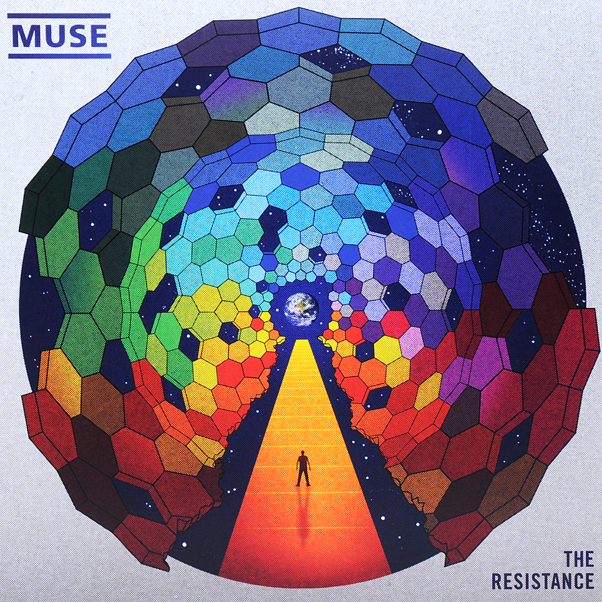 Muse Muse. The Resistance (2 LP) muse burning skies