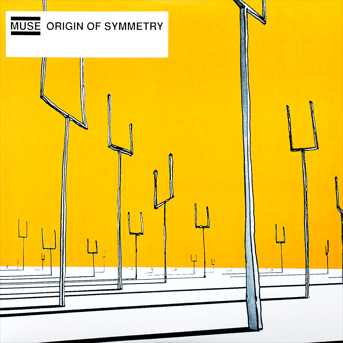 Muse Muse. Origin of Symmetry (2 LP) muse burning skies