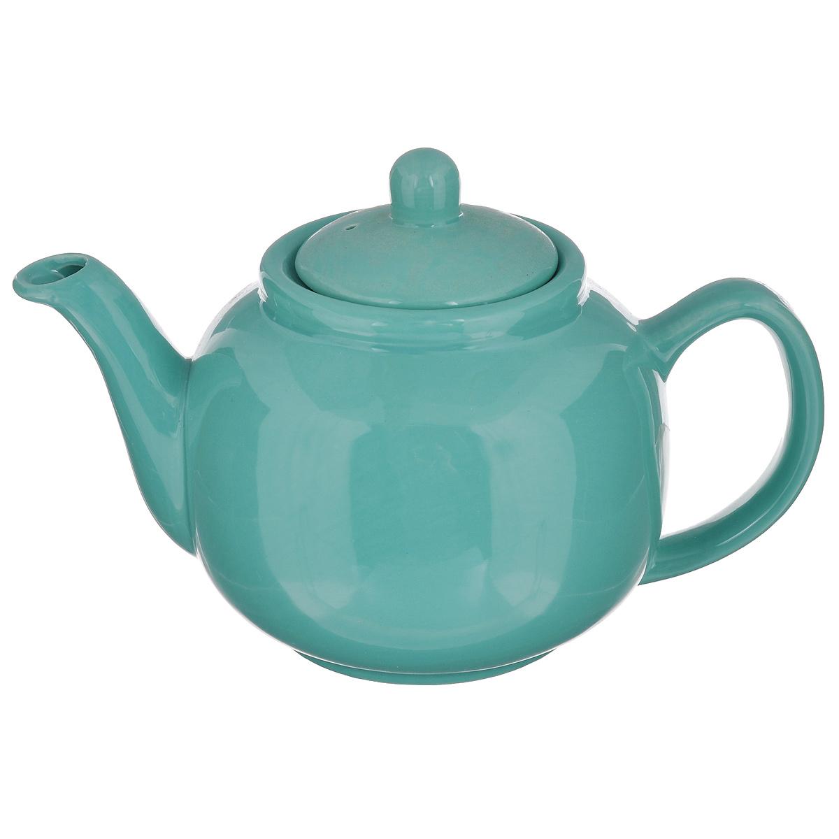 Чайник заварочный Loraine, цвет: зеленый, 940 мл115510Заварочный чайник Loraine изготовлен из высококачественной доломитовой керамики высокого качества без примеси ПФОК. Глазурованное покрытие делает поверхность абсолютно гладкой и легкой для чистки. Изделие прекрасно подходит для заваривания вкусного и ароматного чая, травяных настоев. Оригинальный дизайн сделает чайник настоящим украшением стола. Он удобен в использовании и понравится каждому.Можно мыть в посудомоечной машине и использовать в микроволновой печи. Диаметр чайника (по верхнему краю): 9 см. Высота чайника (без учета крышки): 11 см.