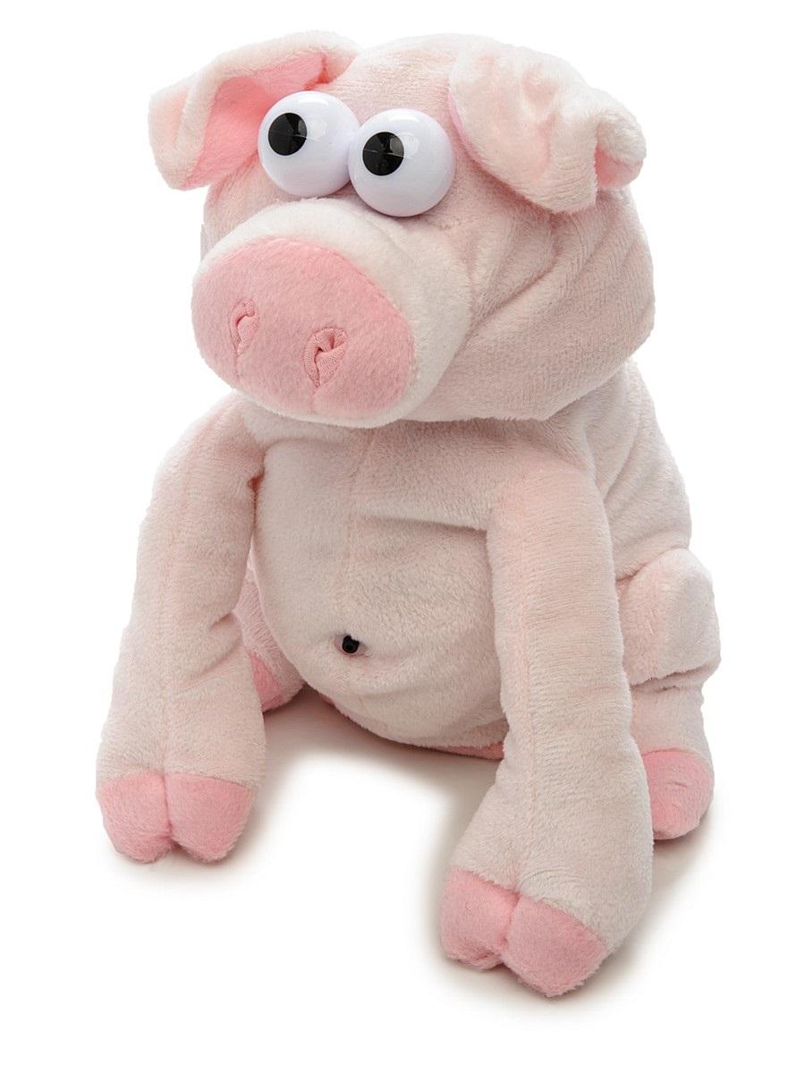 Chericole Интерактивная мягкая игрушка Свинка chericole интерактивная мягкая игрушка обезьянка цвет фиолетовый