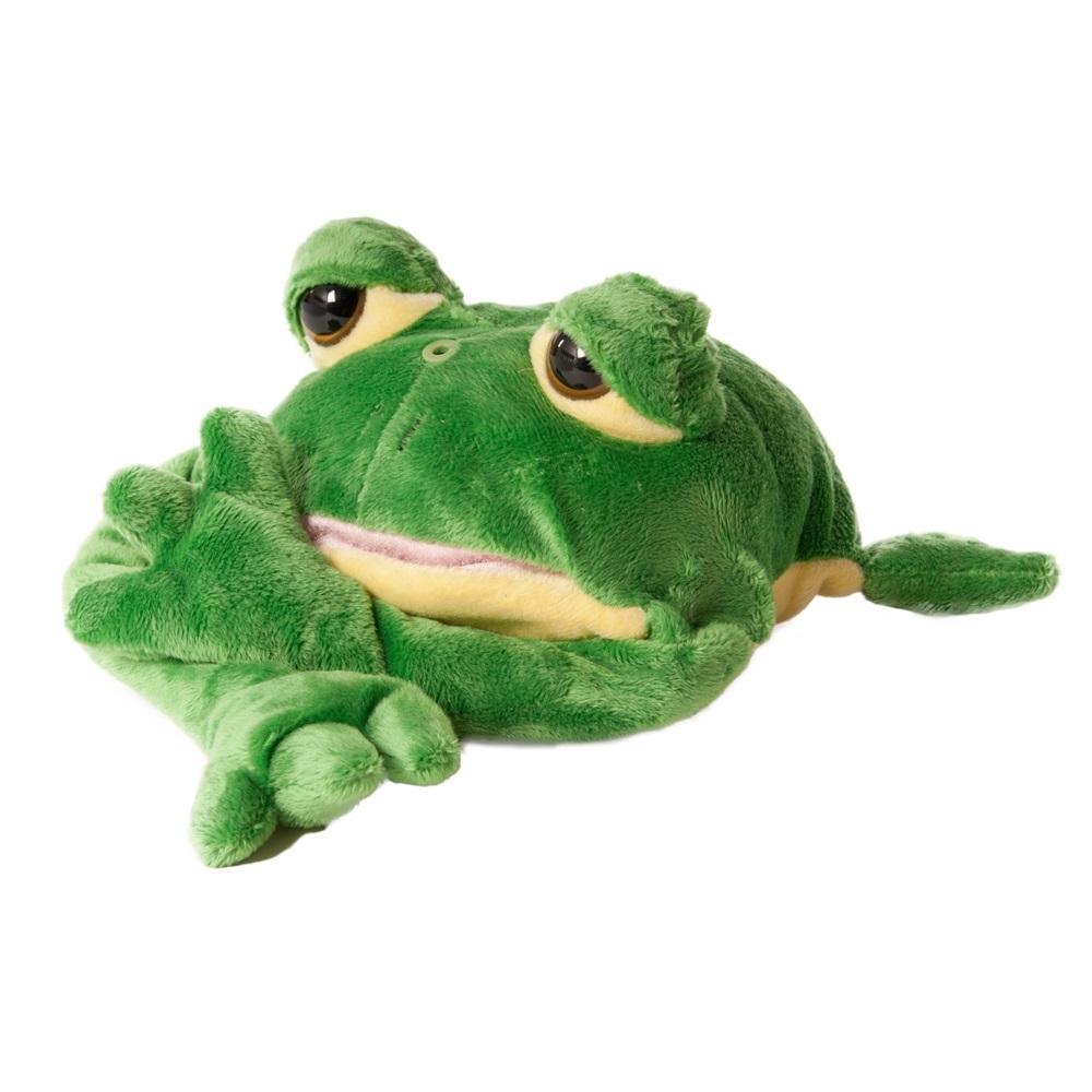 Chericole Интерактивная мягкая игрушка Смеющаяся лягушка chericole интерактивная мягкая игрушка обезьянка цвет фиолетовый