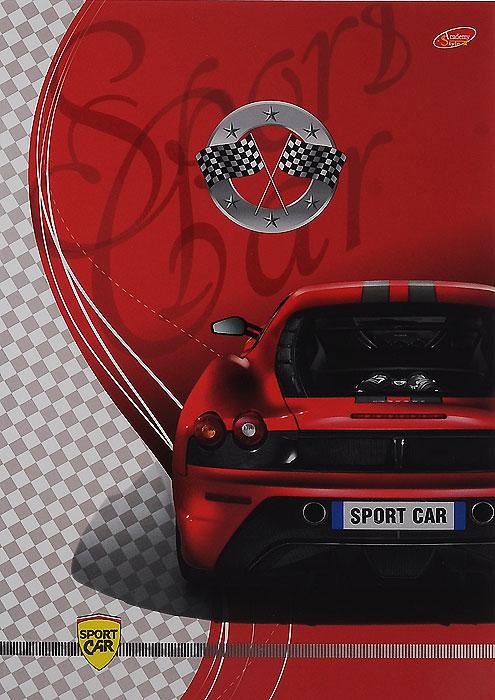 Тетрадь Sport Car Вид сзади, 80 листов, формат А4, цвет: красный72523WDУниверсальная тетрадь Sport Car Вид сзади подойдет как для учебы, так и для работы. Обложка тетради выполнена из мелованного картона с красочным изображением спортивного автомобиля.Внутренний блок состоит из 80 листов белой офсетной бумаги со стандартной линовкой в клетку без полей.