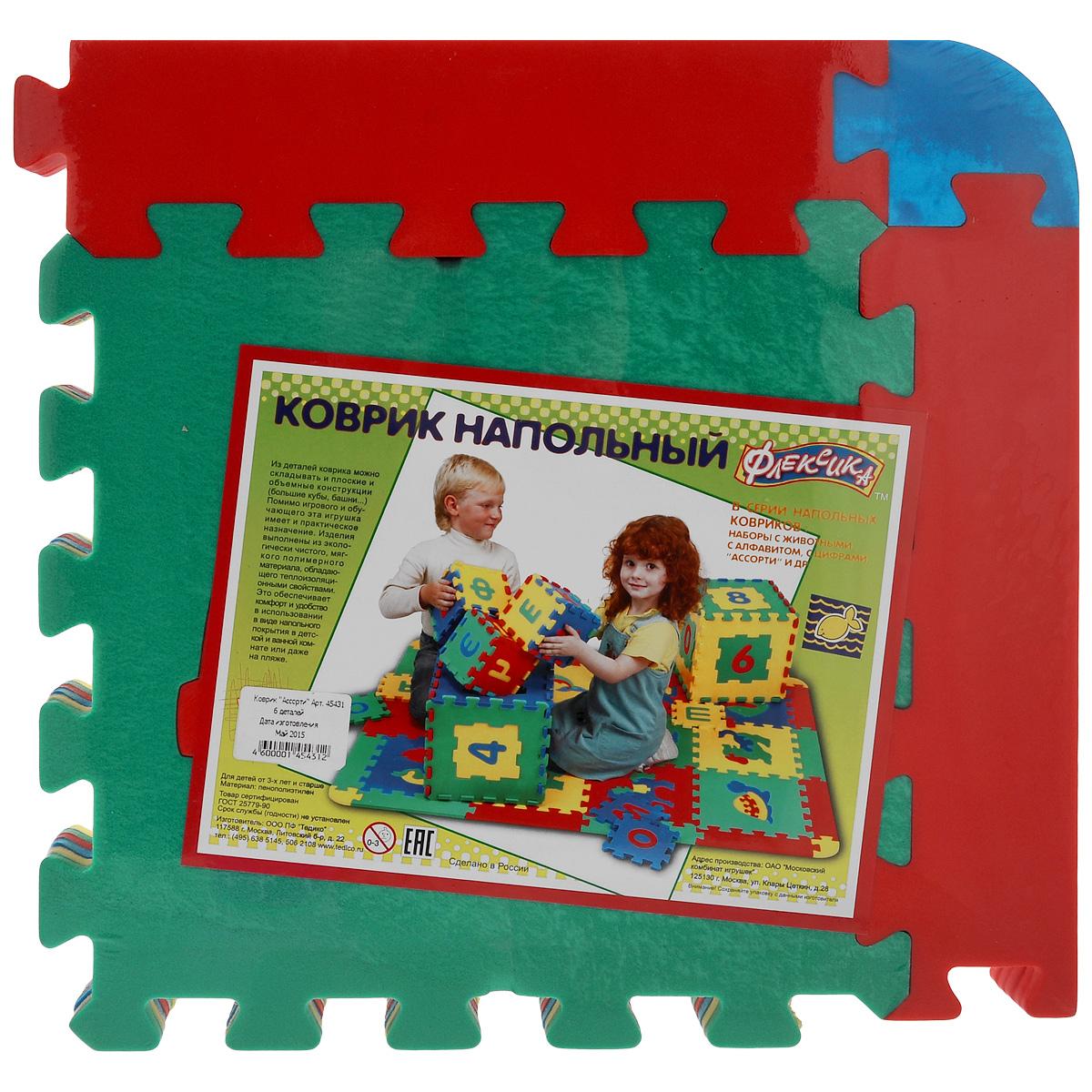 Напольный коврик-мозаика