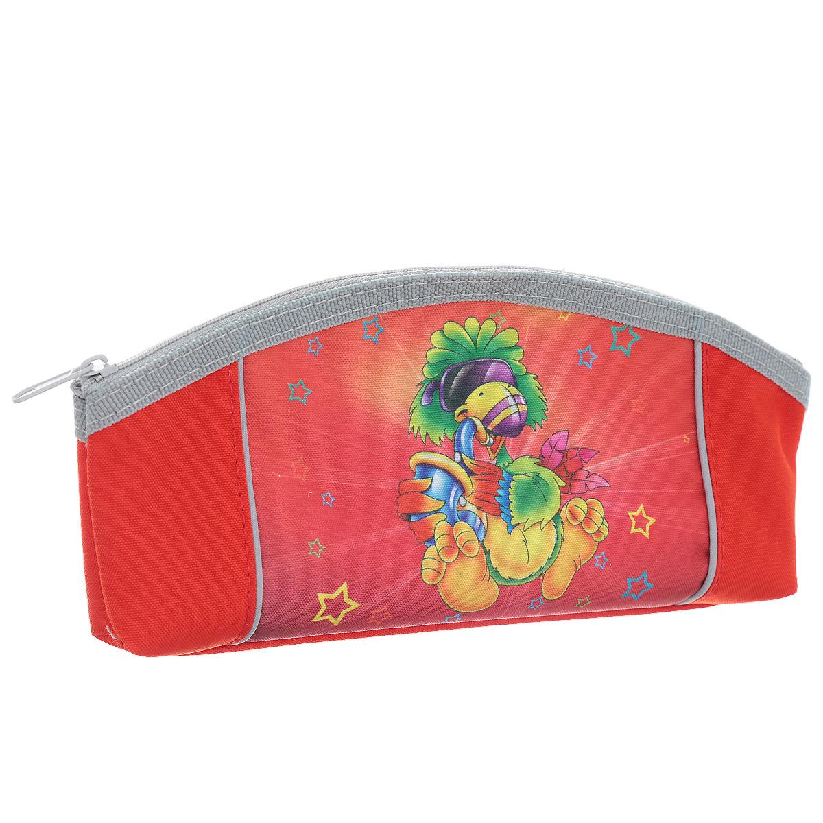 Пенал Tiger Enterprise Joyful Birdie, цвет: красныйDV-APC2200/2Пенал Tiger Family Joyful Birdie станет не только практичным, но и стильным школьным аксессуаром для любого малыша. Пенал выполнен из полиэстера и закрывается на застежку-молнию. Состоит из одного вместительного отделения, в котором без труда поместятся канцелярские принадлежности. Пенал оформлен красочным изображением забавной птички. Такой пенал станет незаменимым помощником для школьника, с ним ручки и карандаши всегда будут под рукой и больше не потеряются.