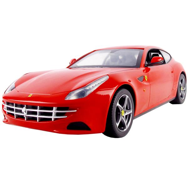 Автомобиль на радиоуправлении Ferrari FF Движение: врерёд, назад, влево, вправо. Скорость движения машинки до 10км/ч При движении святятся передние и задние фары Радиус действия пульта до 20 метров Батарейки: 1х9v для пульта управления и 5хAA для автомобиля Цвет: красный, белый, серебристый. При заказе указывайте какой цвет вам нужен. масштаб 1:14 Размер машинки: 33 х 15 х 9 см Размер упаковки: 43 х 22 х 17 см Возраст: от 4-х лет.