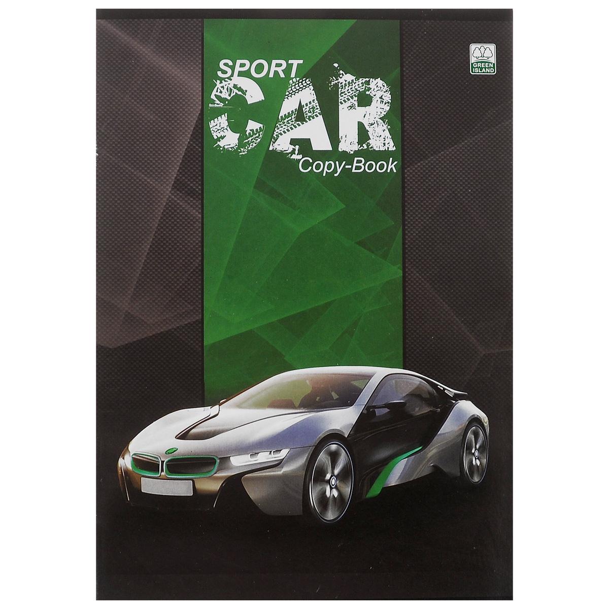 Тетрадь в клетку Sport Cars, цвет: серый, зеленый, 96 листов. 6641/372523WDУниверсальная тетрадь Sport Cars подойдет как для учебы, так и для работы. Обложка тетради выполнена из мелованного картона с спортивного автомобиля.Внутренний блок состоит из 96 листов белой бумаги со стандартной линовкой в клетку без полей. Способ крепления - скобы.