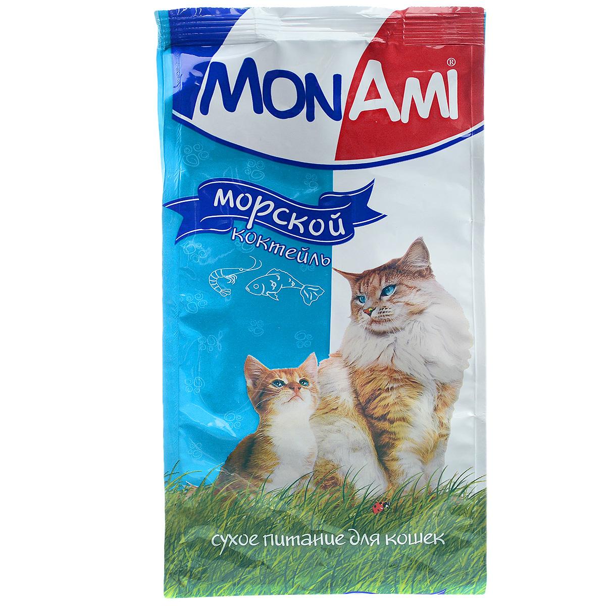 Корм сухой для кошек Mon Ami, с рыбой, 400 г0120710Сухой корм для кошек Mon Ami - это полноценное сбалансированное питание для кошек, разработанное с использованием современных технологий. Особенности рациона: Необходимое сочетание ингредиентов для достижения правильной усвояемости питательных веществ организмом. Источник линолевой кислоты и правильного уровня витаминов группы В благотворно влияют на кожу и шерсть. Таурин - для здоровья глаз и сердца. Состав: злаки (пшеница, рис), экстракт белка растительного происхождения, мясо и продукты животного происхождения, подсолнечное масло, минеральные добавки, гидролизованная печень, рыба и продукты переработки рыбы, пульпа сахарной свеклы (жом), витамины, пивные дрожжи, таурин, антиоксидант. Анализ: сырой протеин 30%, сырой жир 10%, сырая зола 7%, сырая клетчатка 2,5%, влажность 10%, фосфор 0,9%, кальций 1,05%, витамин А 5000 МЕ/кг, витамин Д 500 МЕ/кг, витамин Е 30 мг/кг. Энергетическая ценность: 333 ккал/100 г. Товар сертифицирован.