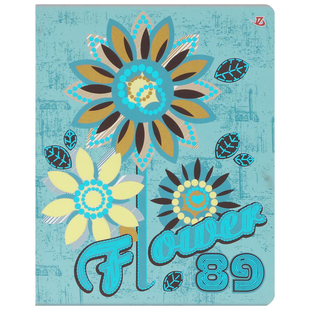 Тетрадь в клетку Seventeen Прекрасные цветы, 60 листов72523WDТетрадь Seventeen Прекрасные цветы изготовлена из высококачественной бумаги повышенной белизны.Яркая обложка тетради выполнена из мелованного картона с закругленными углами. Внутренний блок тетради, соединенный металлическими скрепками, состоит из 60 листов белой бумаги со стандартной линовкой в клетку с полями. Первая страничка содержит поля для заполнения личных данных.Тетрадь Прекрасные цветы подойдет для различных работ и студенту, и школьнику.