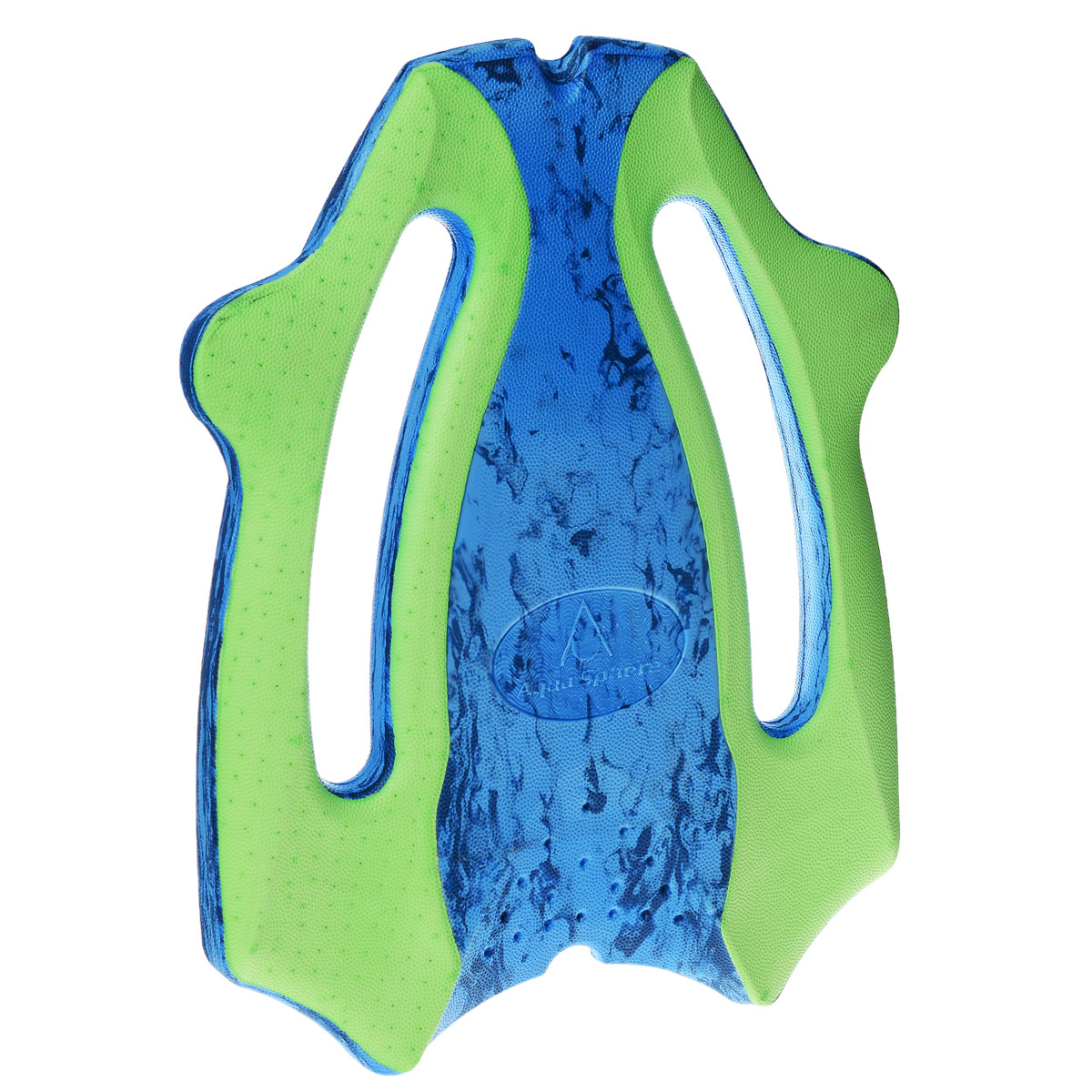 Доска для плавания Aqua Sphere  ErgoBoard , цвет: синий, зеленый - Все для купания