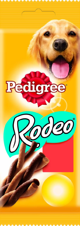 Лакомство для собак Pedigree Rodeo, мясные косички, 70 г12171996Лакомство для собак Pedigree Rodeo подходит в качестве дополнения к основному корму. В упаковке - 4 косички. Собаки маленьких пород, например, такса не более 3-х штук в неделю. Собаки средних пород, например, кокер-спаниель не более 6 штук в неделю. Собаки крупных пород, например, лабрадор не более 12 штук в неделю. Рекомендовано для собак с массой тела более 5 кг. Не подходит для щенков моложе 4-х месяцев.Состав: злаки, продукты растительного происхождения, мясо и субпродукты (включая 4% говядины), сахара, жиры и масла, минералы, белковые растительные экстракты, семена и травы. Пищевая ценность (100 г): белки - 24,5 г; жиры - 3,5 г; зола -5,6 г; клетчатка - 0,7 г; влага - 13,5 г; кальций - 0,75 г; омега-3 жирные кислоты - 65,9 мг; витамин А - 569,8 МЕ; витамин Е - 5,7 мг; моносульфат железа - 5,2 мг. Энергетическая ценность (100 г): 336 ккал. Товар сертифицирован.