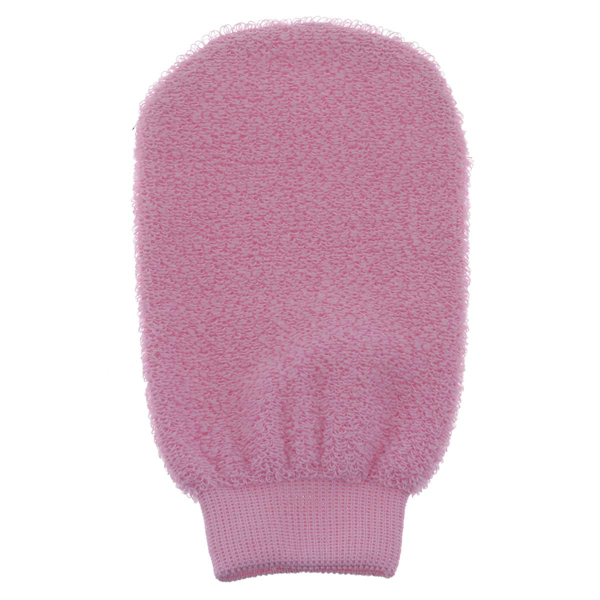 Мочалка-рукавица для лица Riffi, розовый870288Мочалка-рукавица Riffi деликатно ухаживает за кожей лица, обладает активным отличным пилинговым действием, тонизируя, массируя и эффективно очищая вашу кожу. Слегка влажной рукавицей можно очищать лицо от макияжа даже без применения косметических средств. Рукавица не только эффективно чистит самые глубокие поры, но и делает мягкий деликатный массаж. Стимулирует кровообращение, обеспечивает омолаживающий эффект. Особая мягкость мочалки позволяет использовать ее для самой нежной и чувствительной кожи.