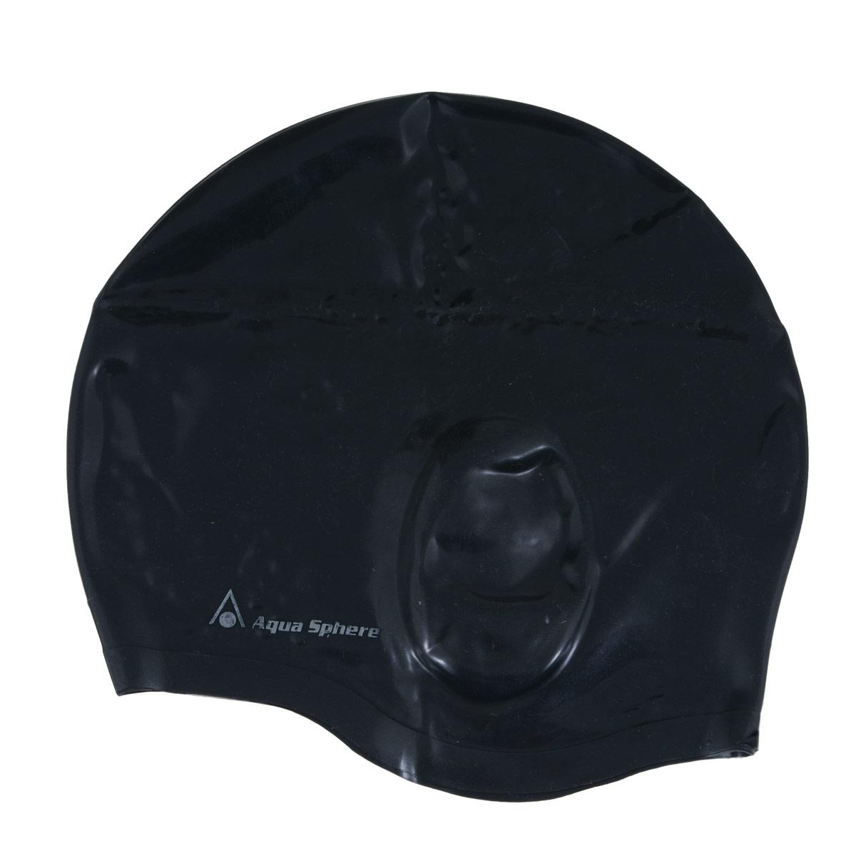 Шапочка для плавания Aqua Sphere Aqua Glide, цвет: черный3B327Анатомическая силиконовая шапочка Aqua Sphere Aqua Glide выполнена из высококачественного гипоаллергенного силикона. Специальные ушные карманы уменьшают давление шапочки на уши и предотвращают ее соскальзывание. Пупырчатая внутренняя поверхность также препятствует соскальзыванию. Шапочка обеспечивает 100% защиту от ультрафиолетового излучения.