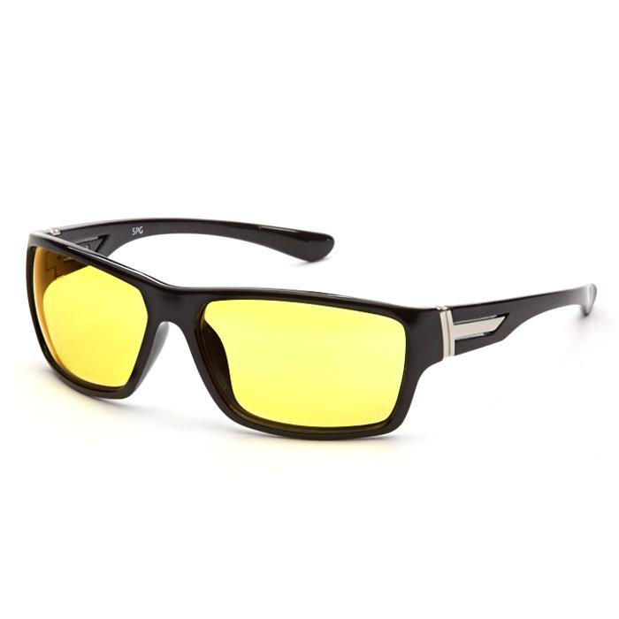 SP Glasses AD082 Premium, Black водительские очкиBM8434-58AEВодительские очки SP Glasses AD082 Premium подарят комфорт вашим глазам во время езды на автомобиле. Очки значительно улучшат видимость в дороге при непогоде и снижают нагрузку на глаза. Даже длительная дорога в этих очках будет менее утомительной. В них также рекомендуется ездить в вечернее и ночное время, благодаря тому очки повышают контрастность и помогают лучше ориентироваться во время тумана или дождя. При этом они отлично блокируют ультрафиолетовые лучи (UV 400).Наносники: нерегулируемые