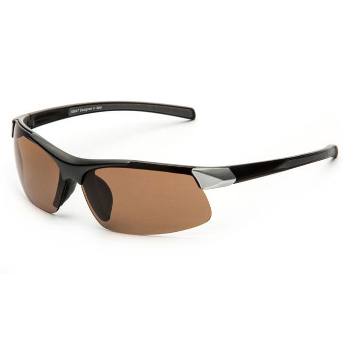 SP Glasses AS047 Premium, Black Silver водительские очки темныеINT-06501SP Glasses AS047 Premium - релаксационные комбинированные очки для активного отдыха с коричневым светофильтром. Они рекомендуются для использования в дневное время и ясную погоду для защиты глаз от яркого солнца. Отлично блокируют ультрафиолетовые лучи (UV 400).Наносники: нерегулируемые