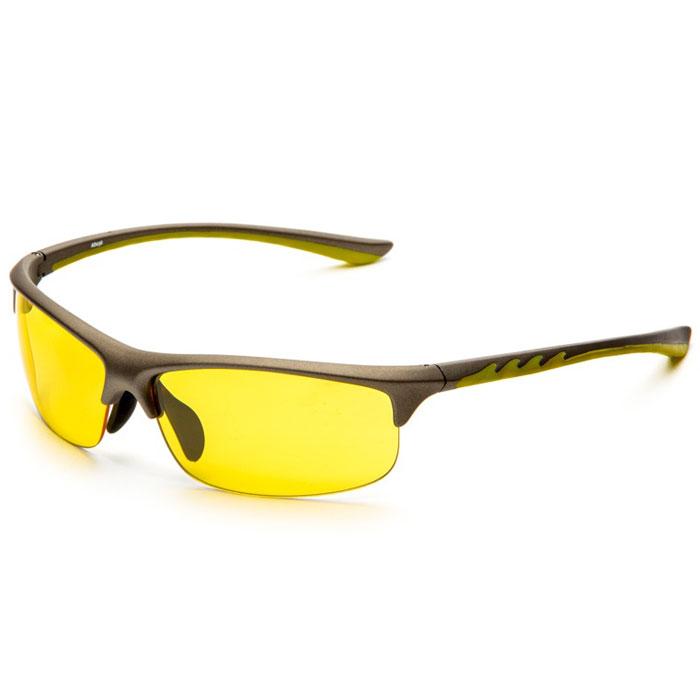 SP Glasses AD036 Premium, Grey Yellow водительские очкиINT-06501SP Glasses AD036 Premium - релаксационные комбинированные очки для активного отдыха с желтым светофильтром. Они улучшают видимость, повышают контрастность в вечернее и ночное время, туман, дождь, а также защищают от ослепления фарами встречных автомобилей. Отлично показывают себя в условиях плохой видимости.Наносники: нерегулируемые