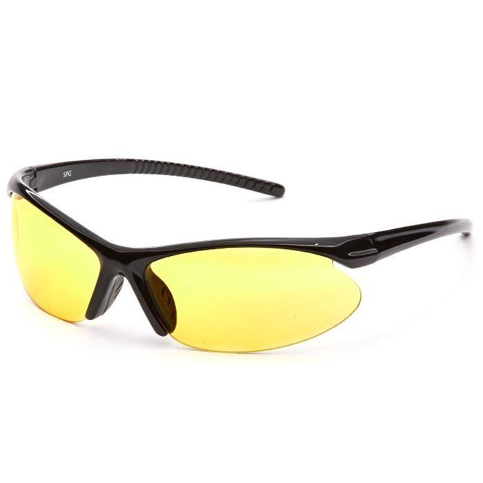 SP Glasses AD024 Premium, Black водительские очкиINT-06501SP Glasses AD024 Premium - релаксационные комбинированные очки для активного отдыха с желтым светофильтром. Они улучшают видимость, повышают контрастность в вечернее и ночное время, туман, дождь, а также защищают от ослепления фарами встречных автомобилей. Отлично показывают себя в условиях плохой видимости.Наносники: нерегулируемыеГеометрия: овальная