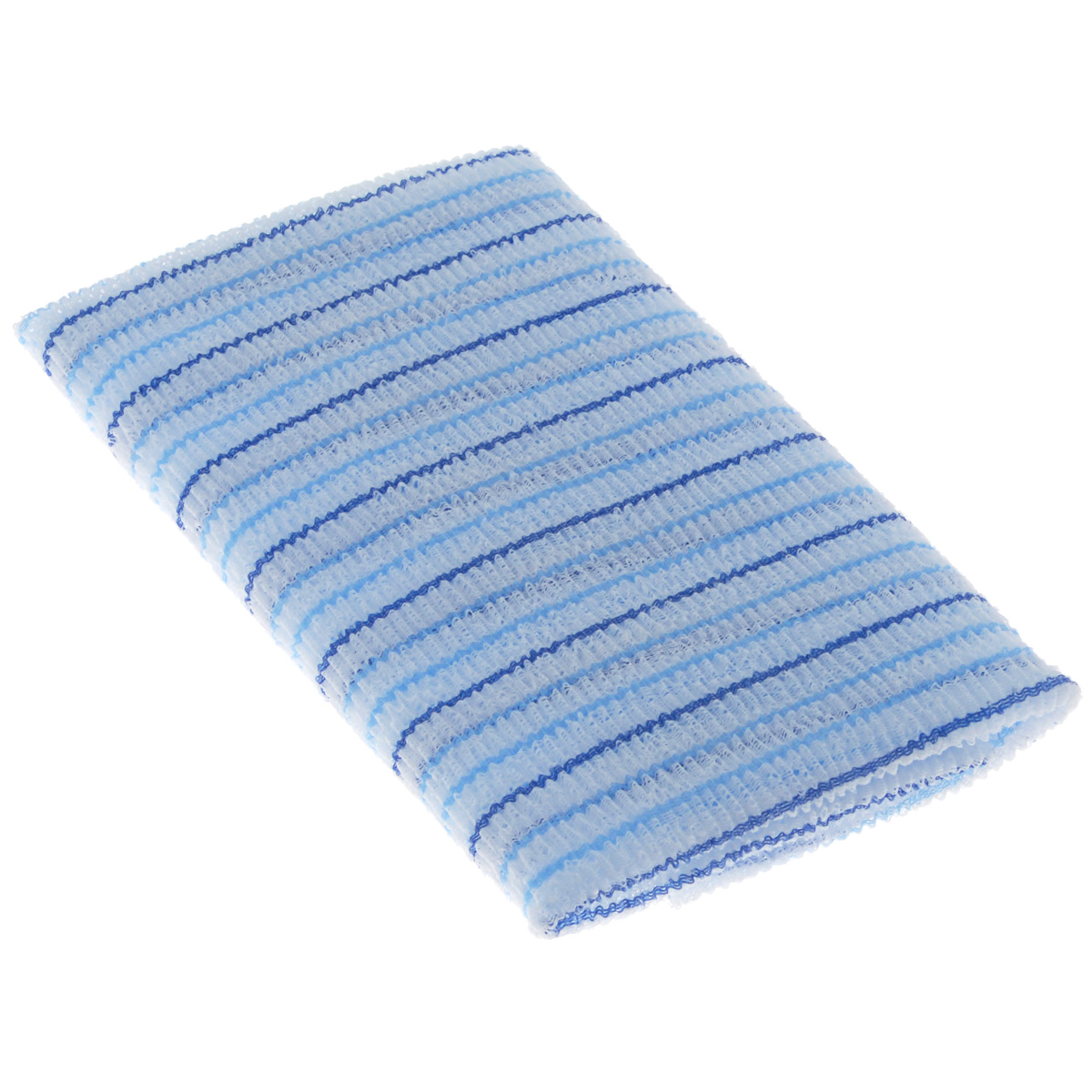 Мочалка для душа SungBo Clean&Beauty Fresh, цвет: голубой, 28 см х 100 смSC-FM20101Мочалка SungBo Clean&Beauty Fresh прекрасно подойдет для ухода за вашей кожей во время принятия ванны и душа. Благодаря оригинальной вязке из гофрированного волокна мочалка создает одновременно как ощущение мягкости, так и ощущение пилинга, нежно отшелушивая огрубевшую кожу. Шероховатая текстура мочалки стимулирует циркуляцию крови по всему телу и помогает сохранить здоровье и упругость кожи. Мочалка позволяет получить обильную пену, используя небольшое количество геля для душа.