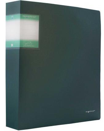 Папка с файлами, 80ф., А4, 1.1мм, PERLEN , карман, зеленый Metallic арт.291980-75 ед.изм.ШтFS-36054Серия: PERLEN