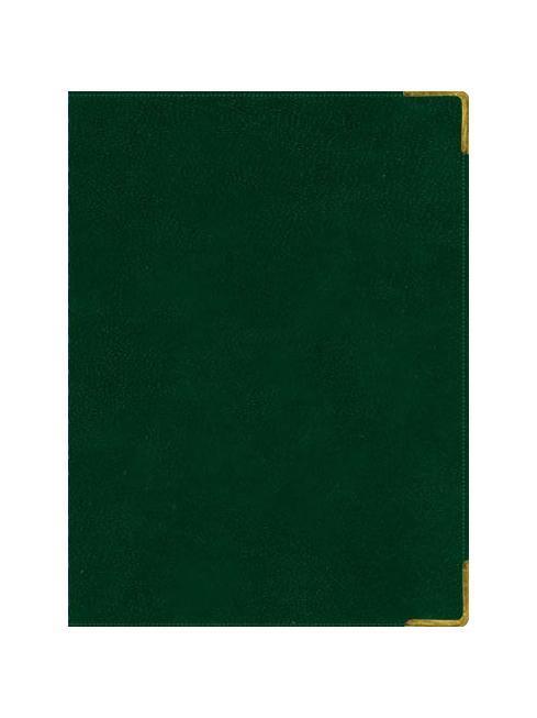 Ежедневник А6 Недатированный Ancient (темно-зеленый) 152л. (BUSINESS PRESTIGE) Искусственная кожа с поролоном72523WDРазметка: . Бумага: . Формат: А6. Пол: Унисекс. Особенности: металлические уголки, цветной торец (золото), бумага тонированная, ляссе 2шт..