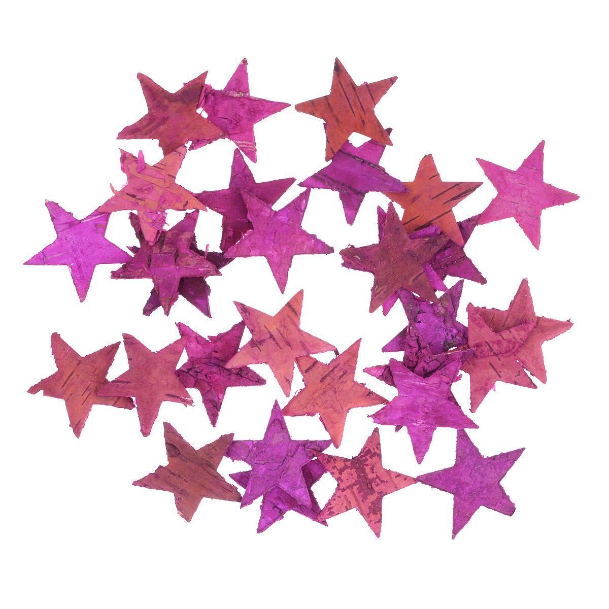 Декоративный элемент Dongjiang Art Звезда, цвет: розовый, 30 штK100Декоративный элемент Dongjiang Art Звезда, изготовленный из натуральной коры дерева, предназначен для украшения цветочных композиций. Изделие можно также использовать в технике скрапбукинг и многом другом. Флористика - вид декоративно-прикладного искусства, который использует живые, засушенные или консервированные природные материалы для создания флористических работ. Это целый мир, в котором есть место и строгому математическому расчету, и вдохновению.