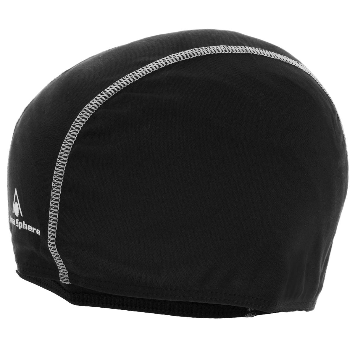 Шапочка для плавания Aqua Sphere Easy Cap, взрослая, цвет: черный10007080Шапочка для плавания Aqua Sphere Easy Cap традиционной формы изготовлена из высококачественного прочного полиэстера. Материал делает ее легкой и суперэластичной.