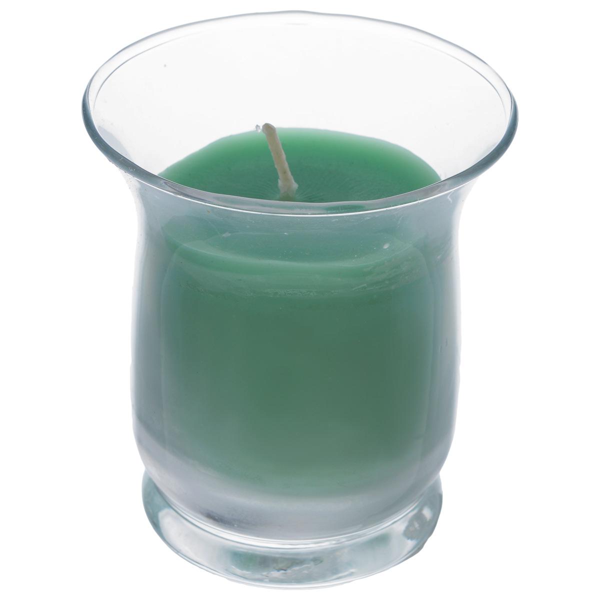 Свеча Sima-land Романтика, с ароматом яблока, высота 7,5 см12723Ароматизированная свеча Sima-land Романтика изготовлена из воска и поставляется в подсвечнике в виде стеклянного стакана. Изделие отличается оригинальным дизайном и приятным ароматом яблока. Такая свеча может стать отличным подарком или дополнить интерьер вашей комнаты.