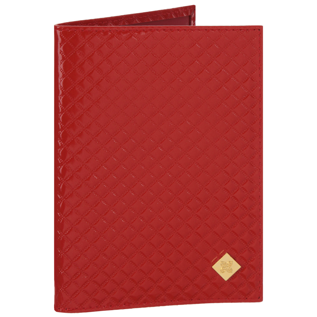 Обложка для паспорта женская Dimanche Rich, цвет: красный. 09090Обложка для паспорта Dimanche Rich выполнена из натуральной кожи, декорирована фактурным тиснением и брендовым металлическим значком на лицевой стороне обложки.Обложка на подкладке с пластиковыми клапанами.Обложка не только поможет сохранить внешний вид ваших документов и защитить их от повреждений, но и станет стильным аксессуаром, идеально подходящим вашему образу. Обложка для паспорта стильного дизайна может быть достойным и оригинальным подарком.